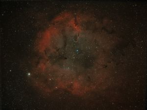 IC1396 – Combined Ha and OIII bicolour composite