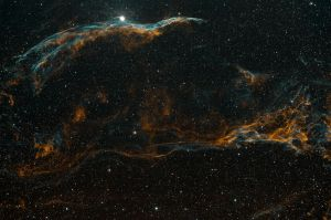 Pickering's Triangle and Witch's Broom Nebula - NGC6960